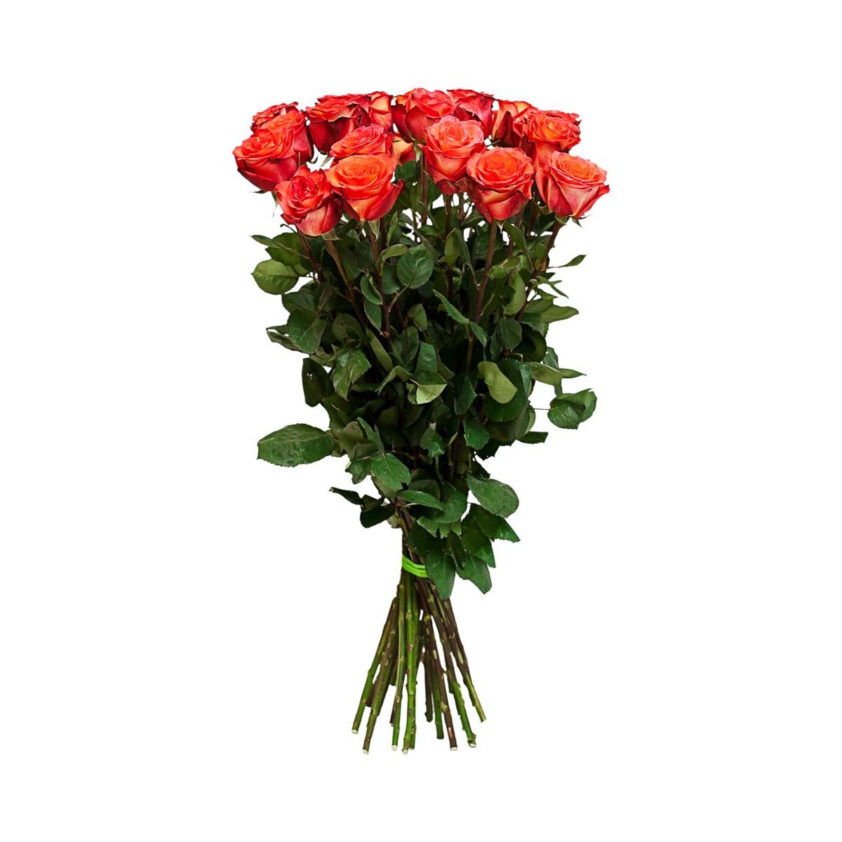 Букет от 11 до 15 оранжеви рози (ти избираш броя)
